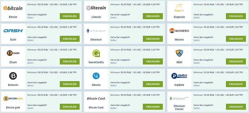 Bitcoin und Blockchain Casinos