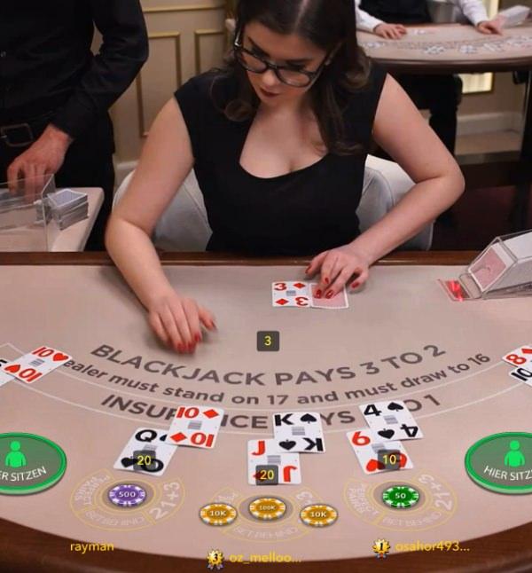 Blackjack High Roller mit 400k Auszahlung