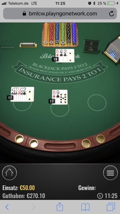 Onlineblackjack - in Wahrheit ganz anderer Ablauf als bisher gedacht?