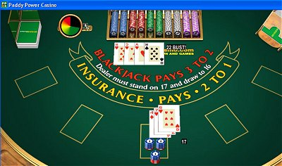 Is paddy power online blackjack rigged
