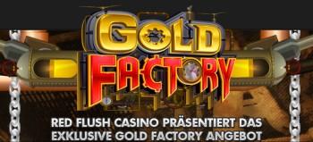 Red Flush 100% Bonus und 50 Freispiele