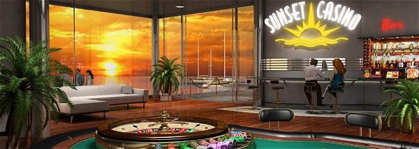Sunset Casino 130% Bonus