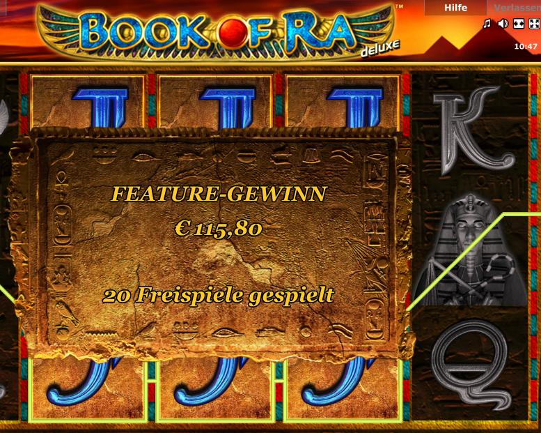 casino games book of ra free