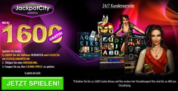 30 Freispiele und bis zu 1600 Euro Bonus