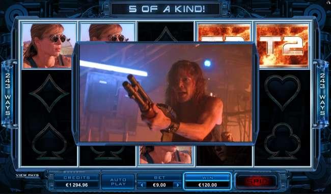 Terminator2 Slot Microgaming Testergebnisse