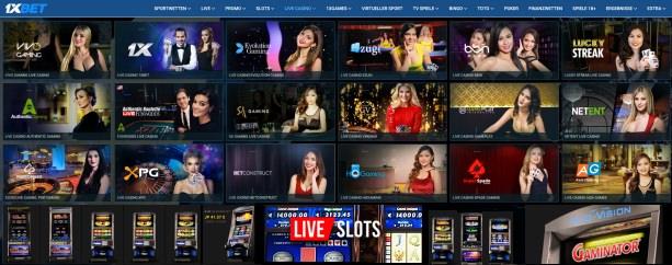 Live Casinos gestestet - 10 verschiedene Evolution-Casinos an einem Tag