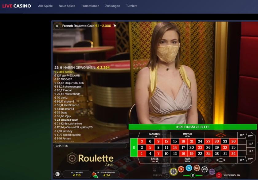 live.casino getestet - Online Casino mit Malta Lizenz