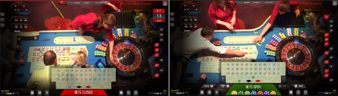 OlyBet - Live Roulette im Olympic Park Casino in Estland