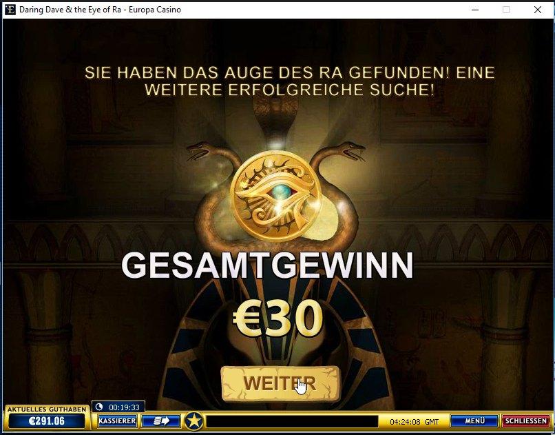 Book of Ra Clone getestet - Eye of Ra von Playtech