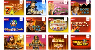 Book of Ra neu im win2day Casino