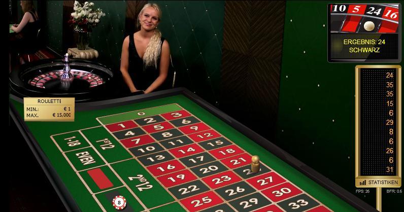 schwarz beim roulette
