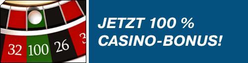bet-at-home 100% Bonus  40x Umsatz