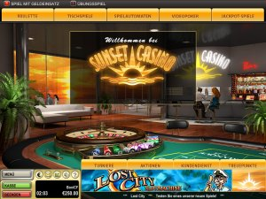 Sunset Casino Test
