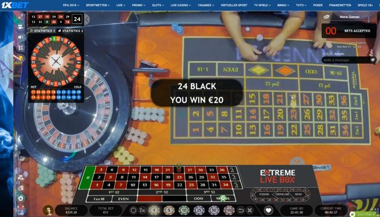 Casinos mit meisten Live Dealern