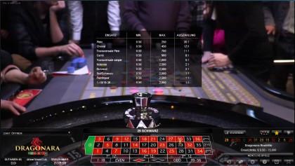 Die Dragonara Spielbank in San Ġiljan auf Malta ist rund um die Uhr für Casinobesucher geöffnet. Einer der dort stehenden Roulettetische mit echten gelernten Croupiers ist per Livestream und Datenbanken mit dem Internet verbunden, so dass die Spielteilnahme vom heimischen PC aus möglich ist.