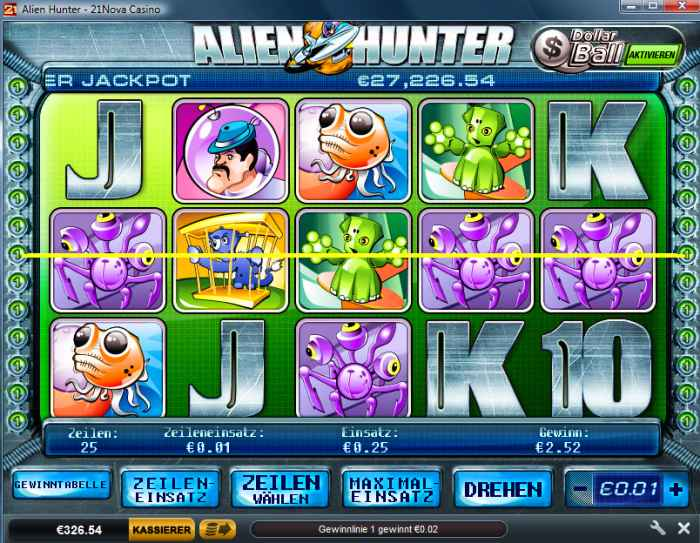 21 nova casino opinie