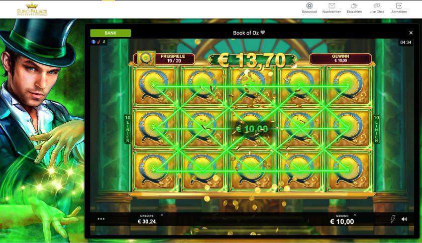 Euro Palace Live Test