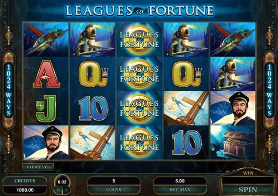 Leagues of Fortune Video Slot