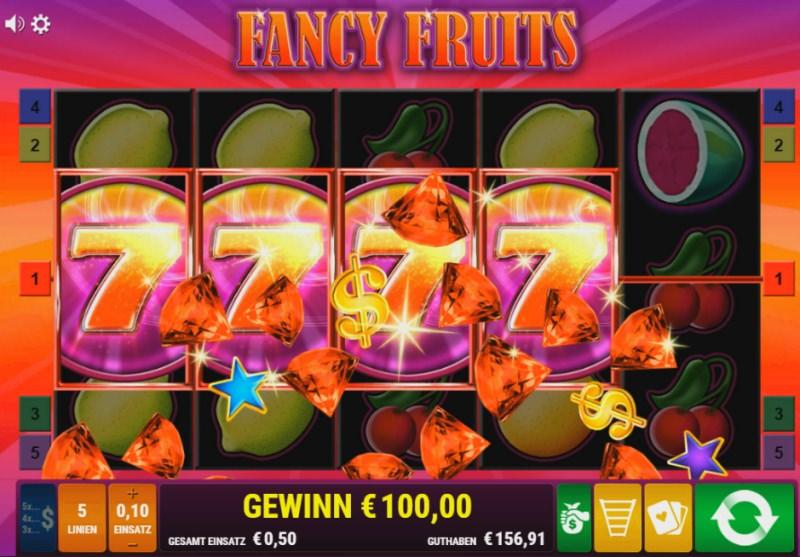 Fancy Fruits Gamomat getestet - 200fach Monster Win - mit Video