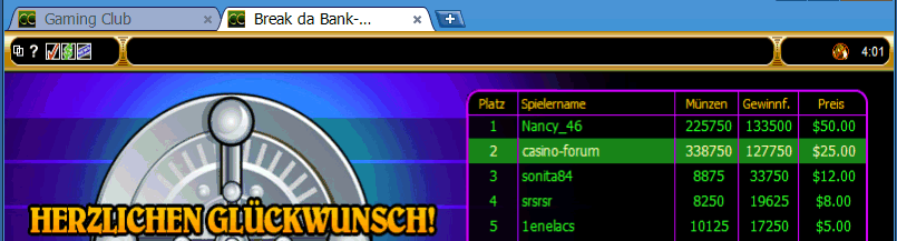 Online Turniere im Mai