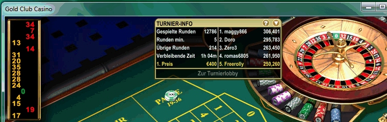 casino tunier strategy