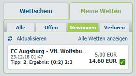 Bundesliga Wettspiel 2018