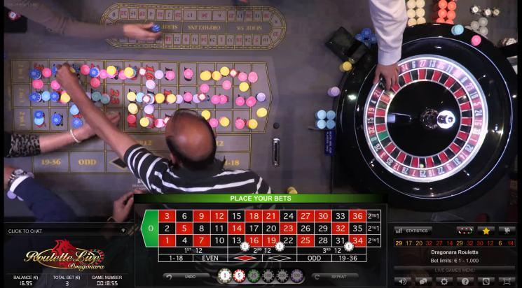 roulette einsatz regeln
